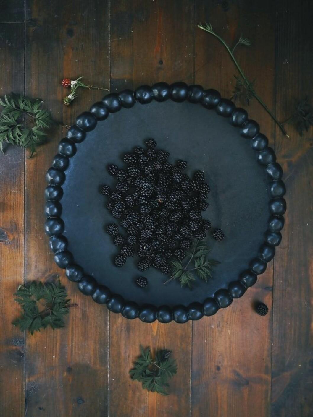 Tallrik från Elin Lannsjös keramikkollektion