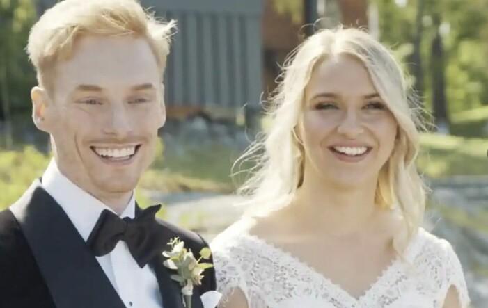 Elinor Sundfeldt och Lars Ekström i gift vid första ögonkastet