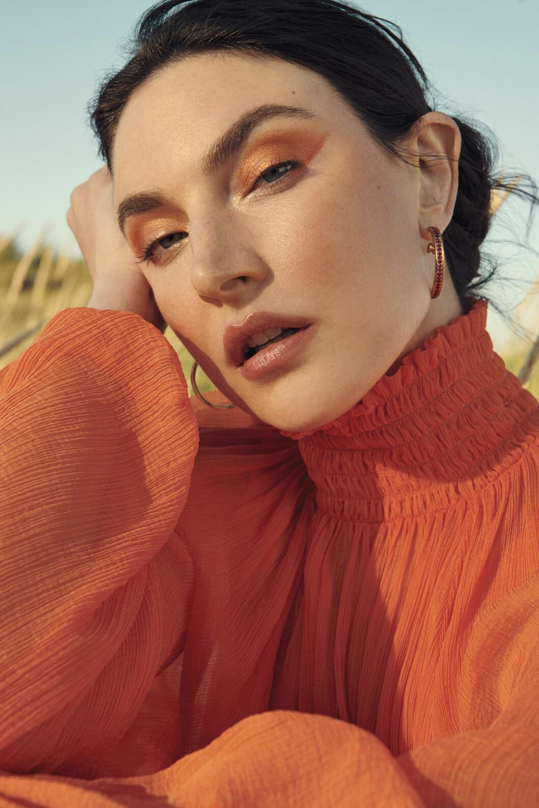 Fixa looken med eyeshadow i tonen <i>Rule</i>, 190 kr, Mac och lip maximizer, <i>nr 012</i>, 385 kr, Dior.