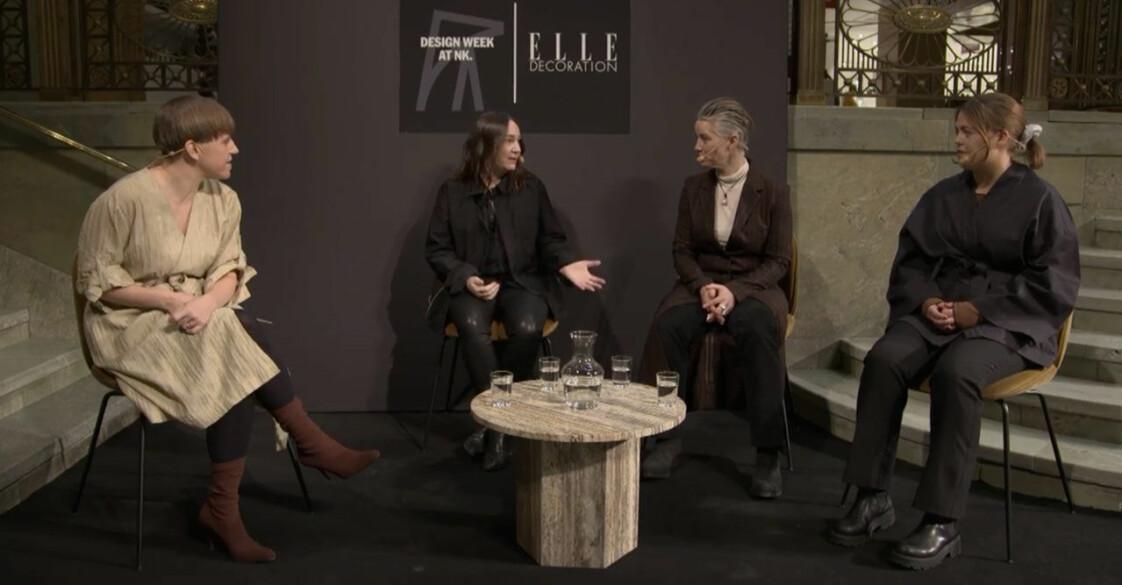 ELLE Deco Design Awards 2021 hade bland annat Design Talks i Ljusgården på NK i Stockholm