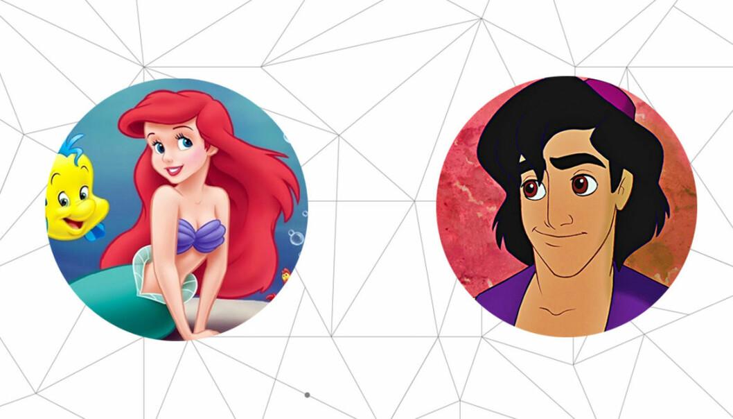 Ariel och Aladdin