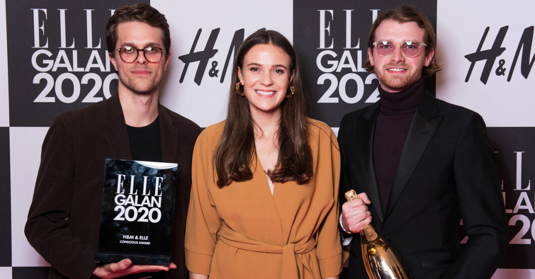 H&M OCH ELLE CONSCIOUS AWARD: Vividye på ELLE-galan 2020