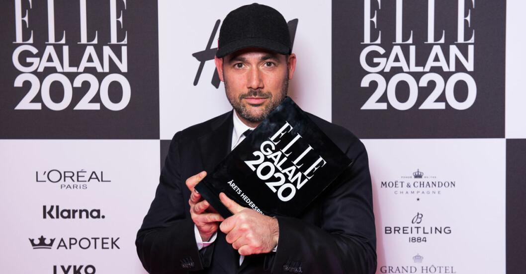 Årets hederspris Acne Studios på ELLE-galan 2020