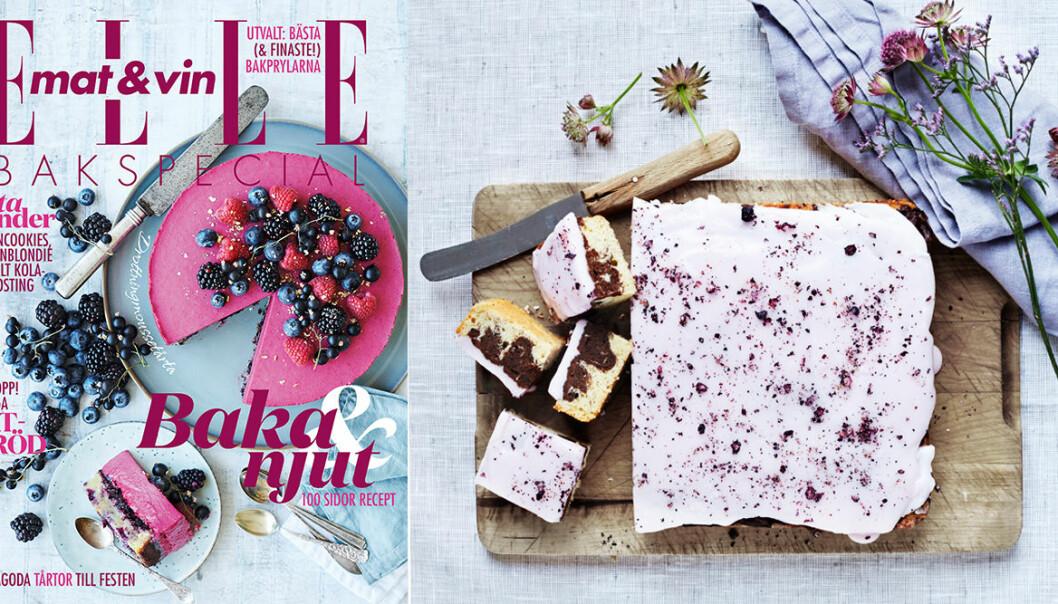 ELLE mat & vin bakspecial omslag