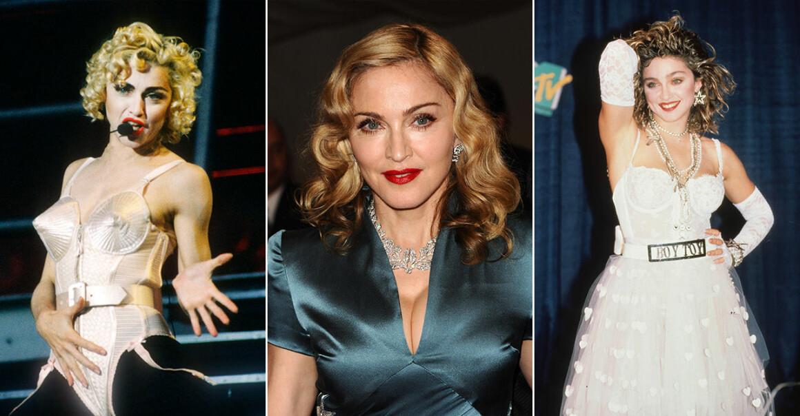 Madonna på 80 och 90-talet.