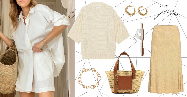 ELLE stylar vita skjortan för alla tillfällen i sommar.