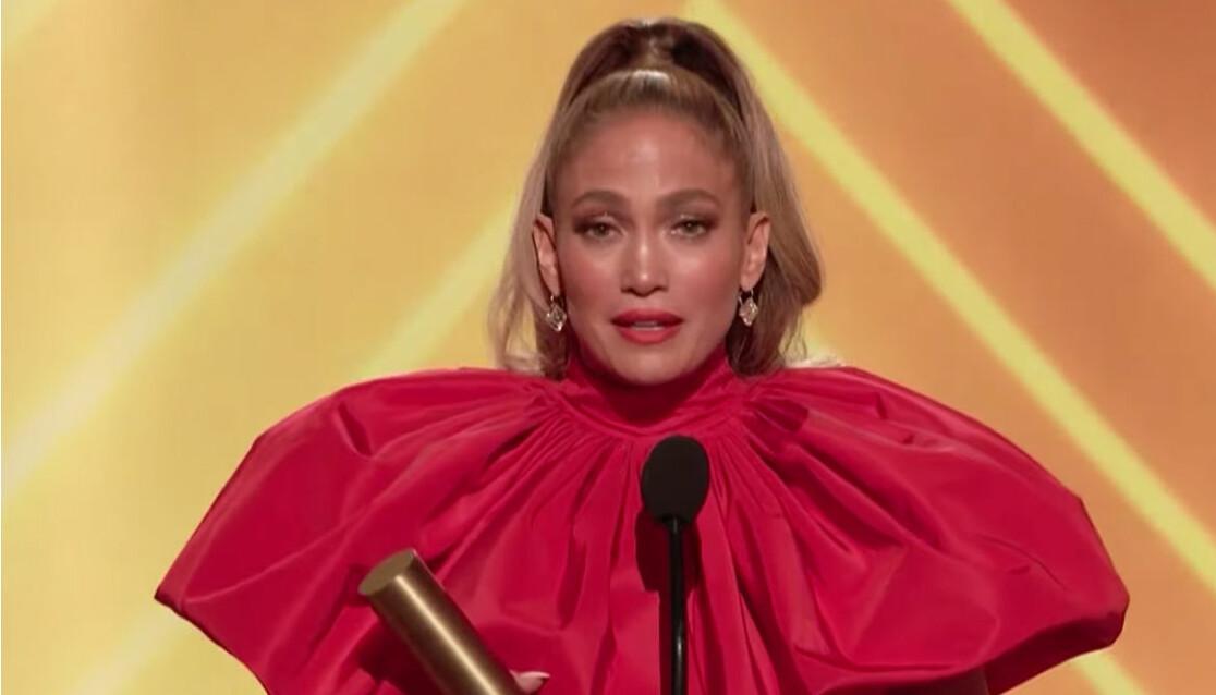 Jennifer Lopez 2020.