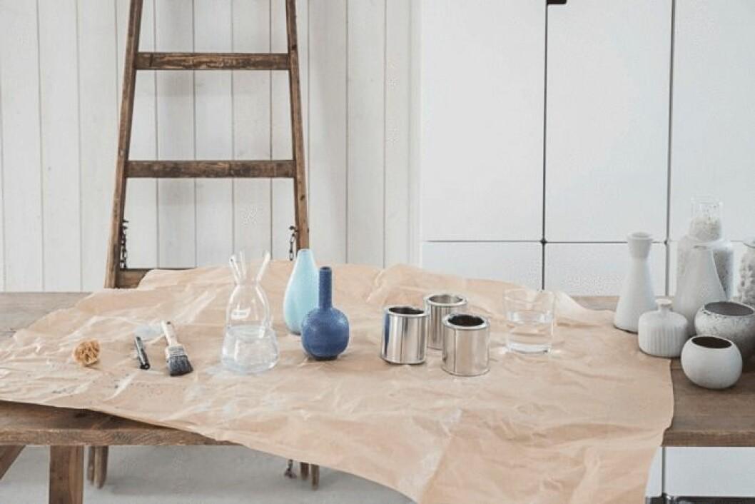 Det som behövs för att förnya keramiken hemma