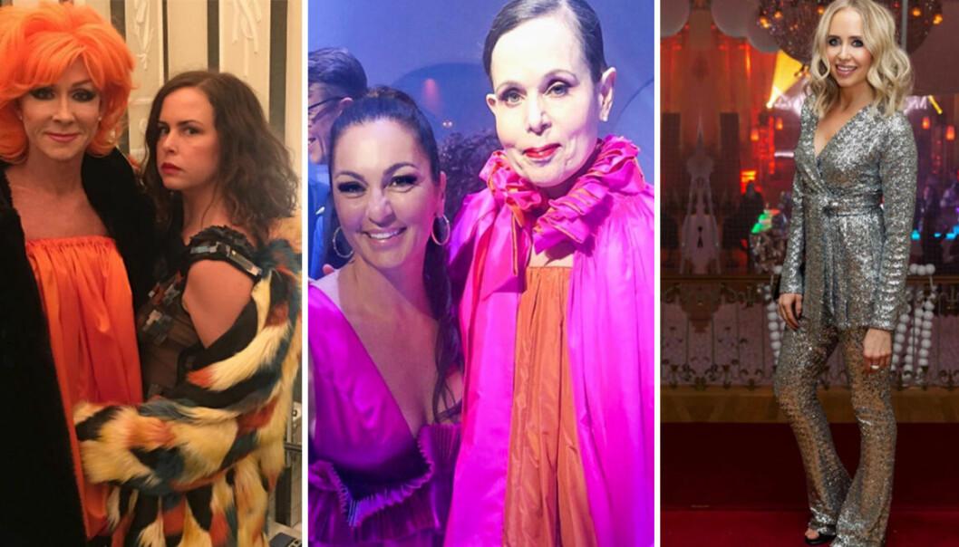 Sara Danius, Elisabeth Massi Fritz, Christer Lindarw, Hanna Hellquist och Ida Warg på Elle-galan 2019.