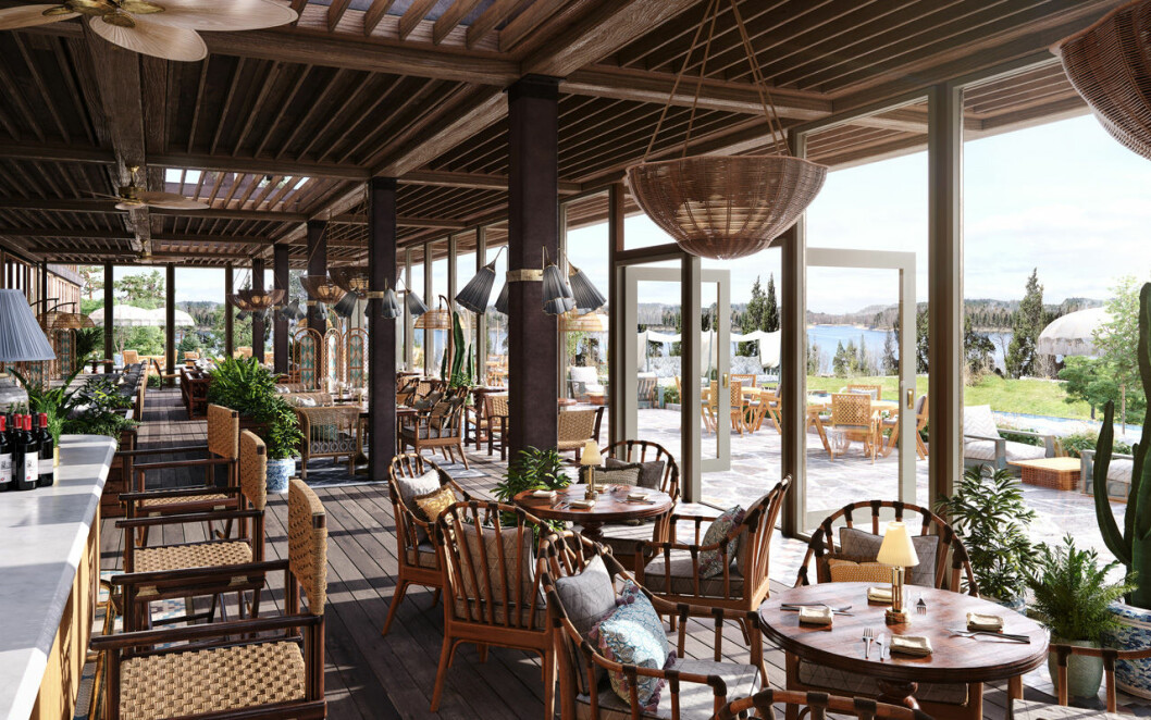 Ellery Beach House veranda