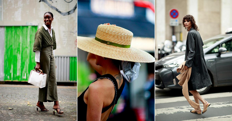 Streetstyle från couture-veckan i Paris 2021.