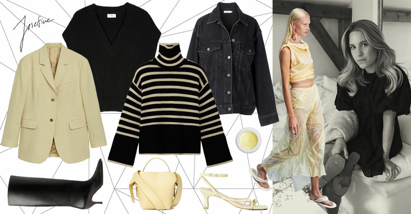 så stylar du vårens trendfärg gul i svensk design.