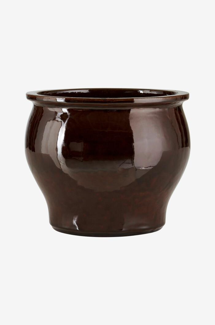 Glaserad keramikkruka Agnes från Ellos Home