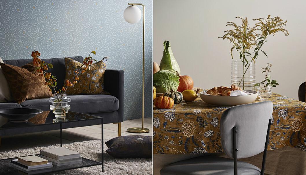 Sandberg Wallpaper och Ellos i designsamarbete