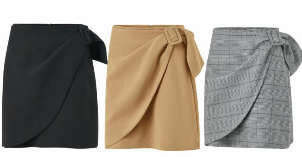 Kort kjol från Isabella Löwengrip x Stylein för Ellos