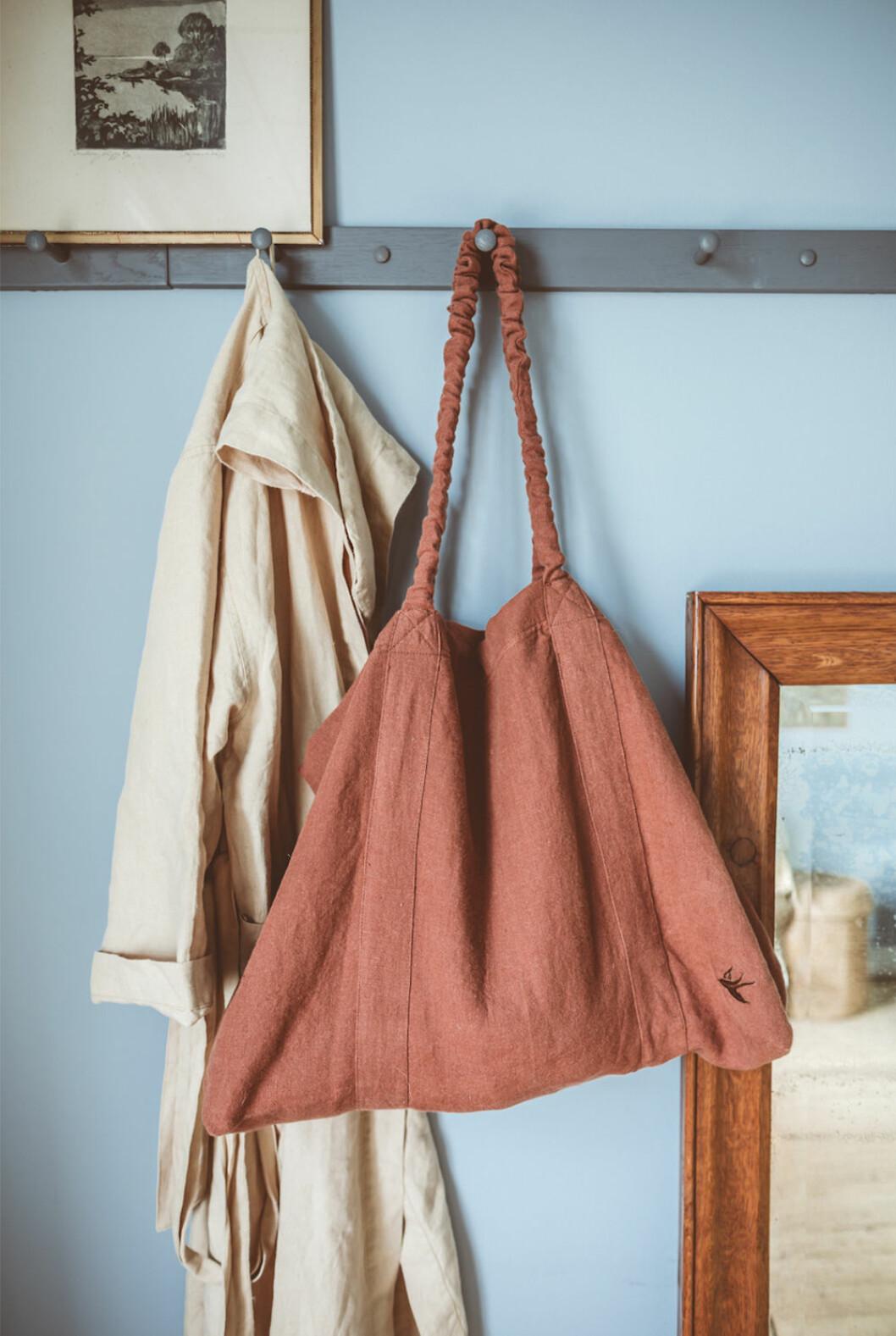 Väska i linne från Krickelin x Ellos Home