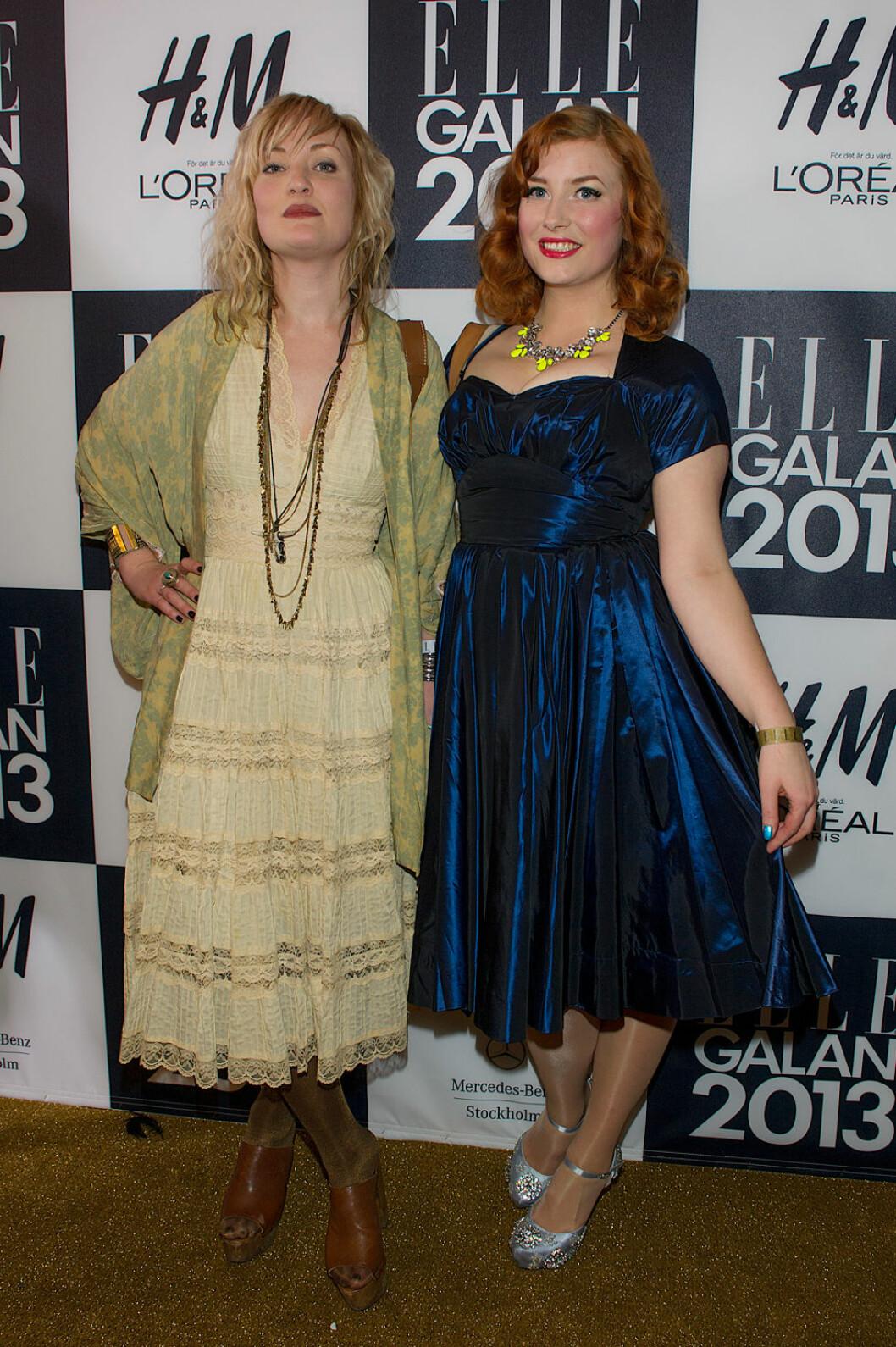 Elsa Billgren på ELLE-galan 2013