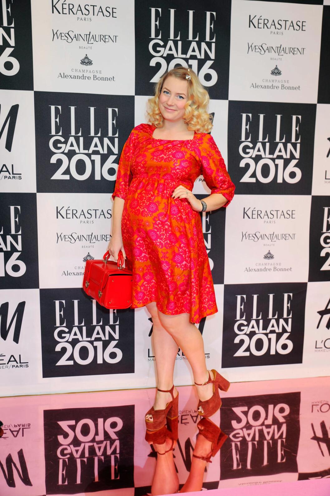 Elsa Billgren på ELLE-galan 2016