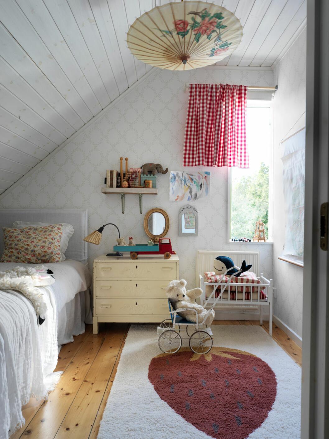 Elsa Billgren sommarhus Gotland barnrum