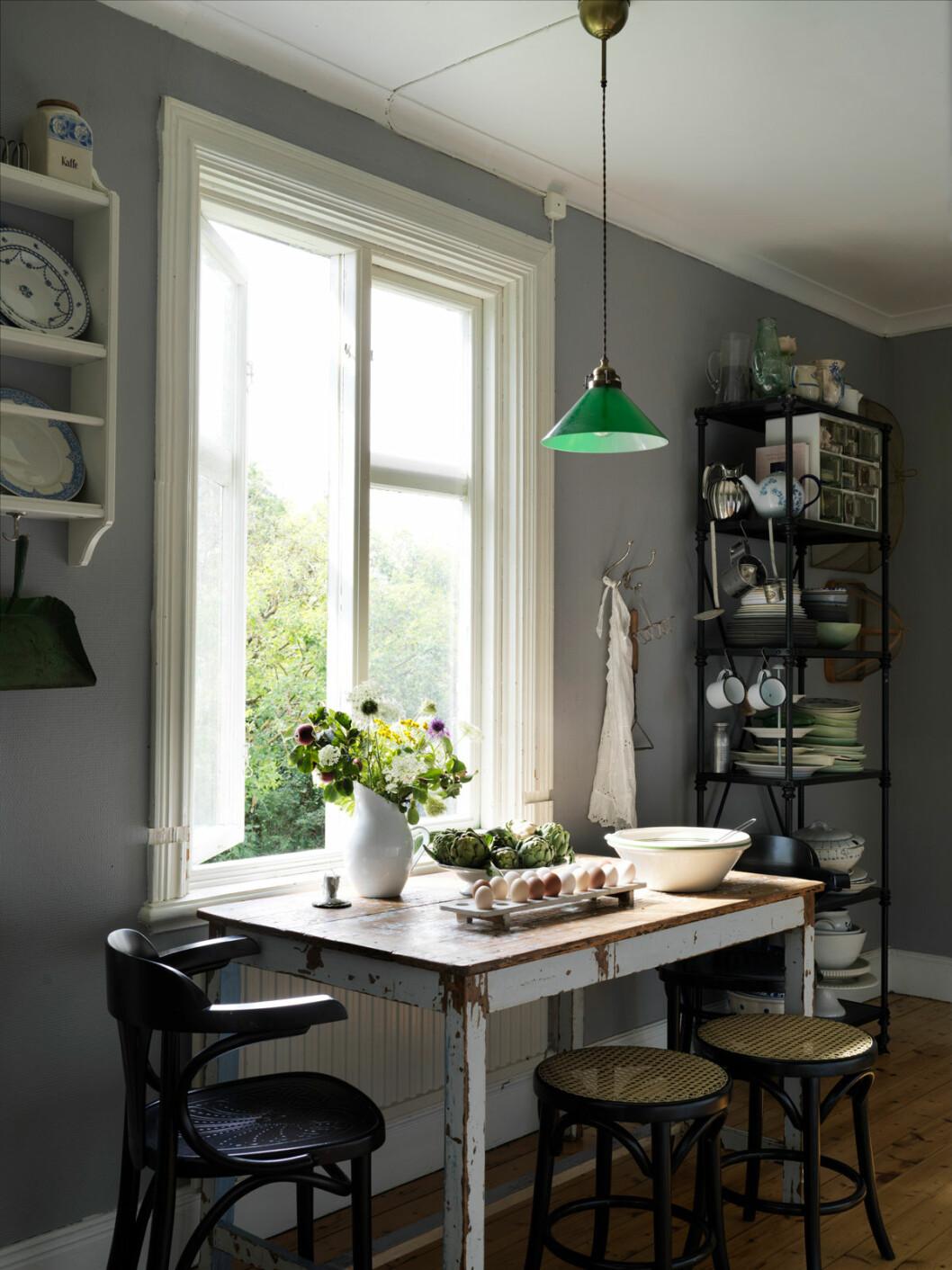 Elsa Billgren sommarhus Gotland köket