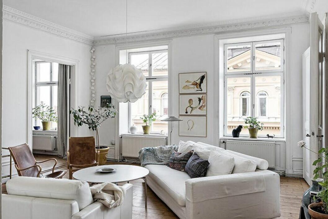 Elsa Billgrens nya lägenhet i Stockholm