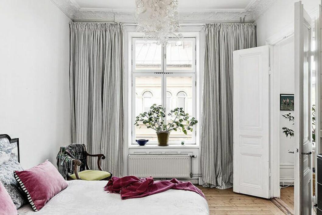 Stora fönster och högt i tak i Elsa Billgrens nya lägenhet