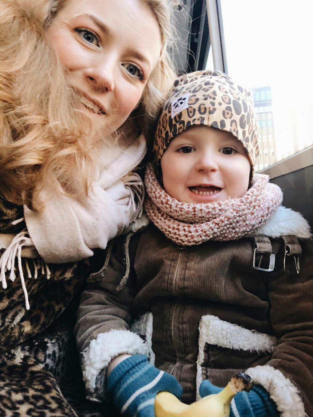 Elsa Billgren och sonen Lynn