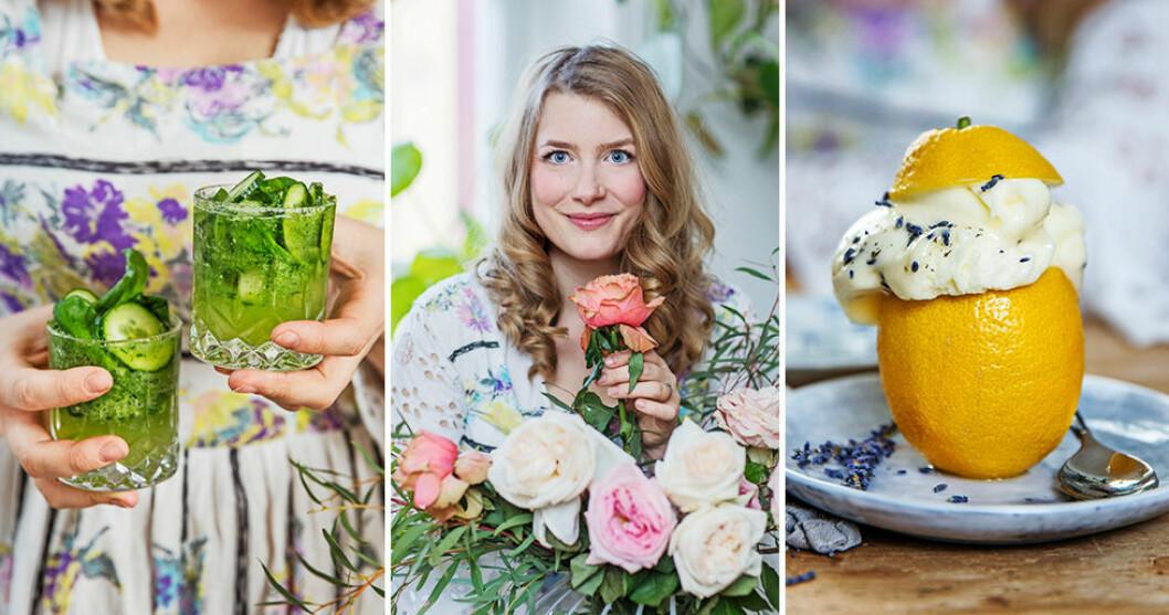 Elsa Billgren bjuder på en fräsch och färgglad meny.