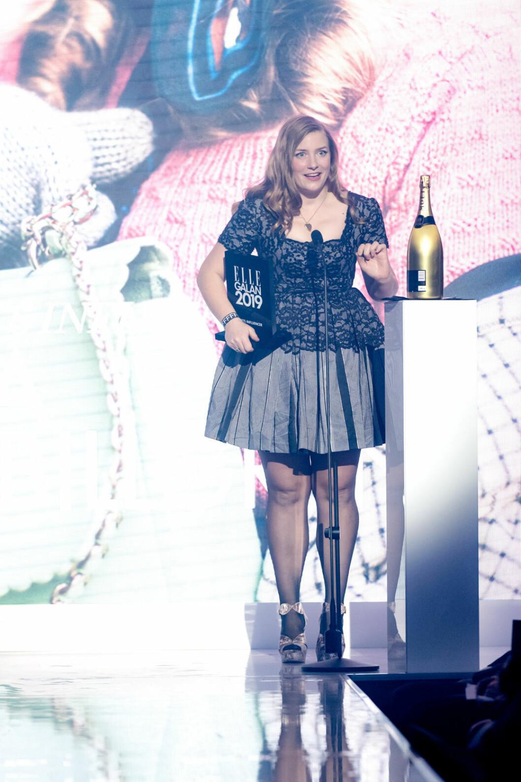 Elsa Billgren är Årets influencer 2019.