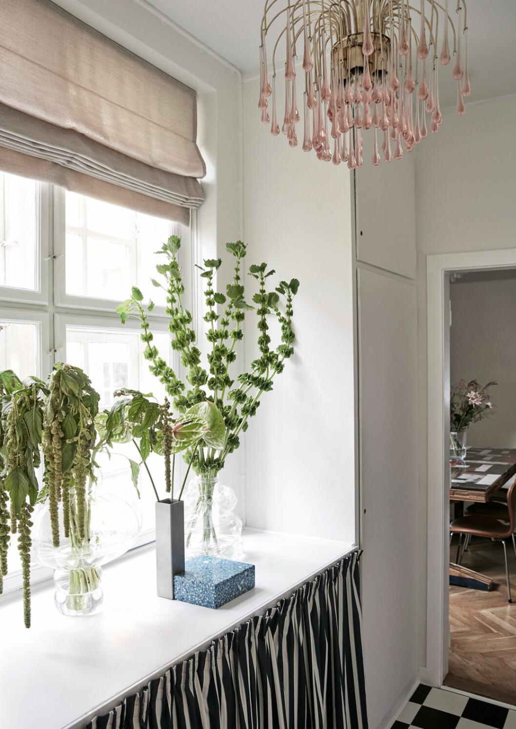 Hemma hos Emili Sindlev Köpenhamn liten hall