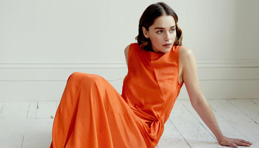 Emilia Clarke öppnar upp om sina tankar kring åldrande