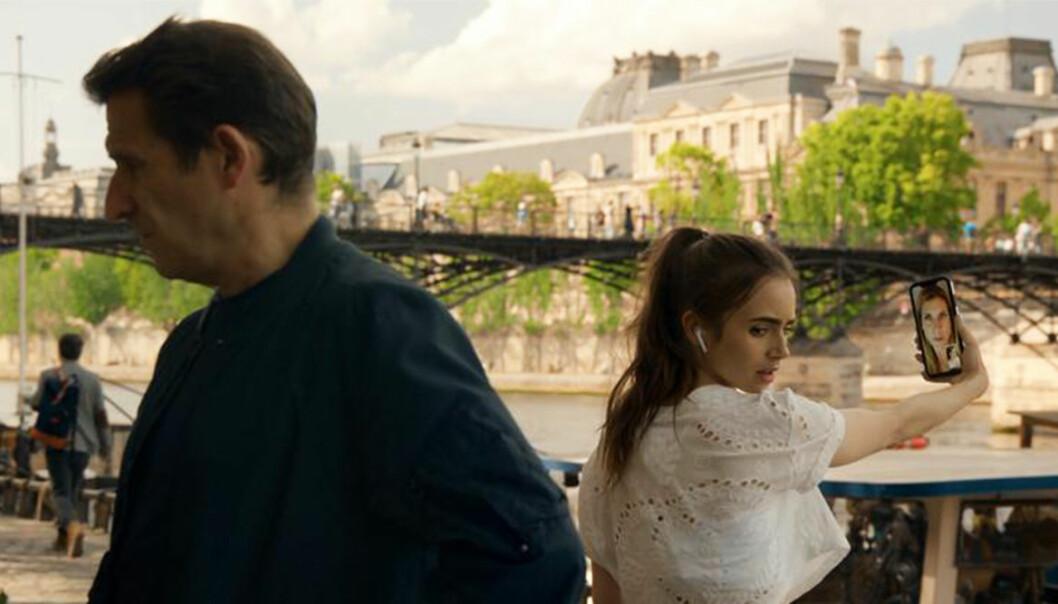 Emily in Paris joggar