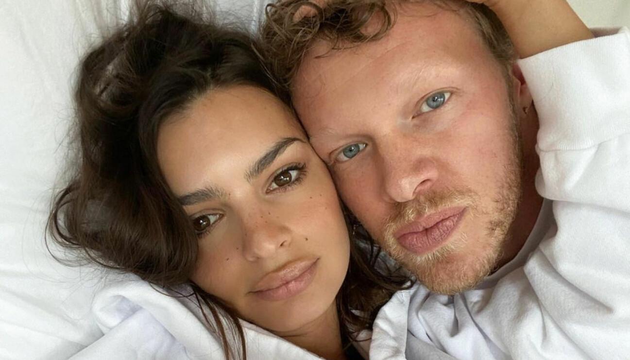 Emily Ratajkowski och Sebastian väntar sitt första barn