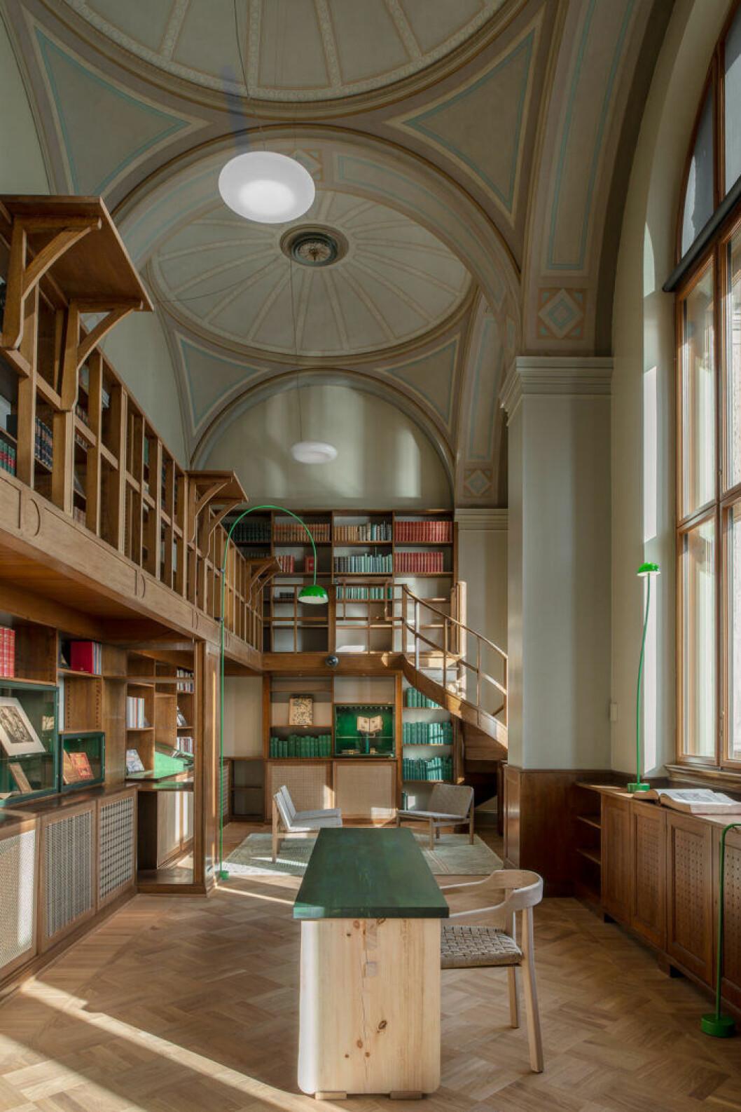 Gamla biblioteket på Nationalmuseum