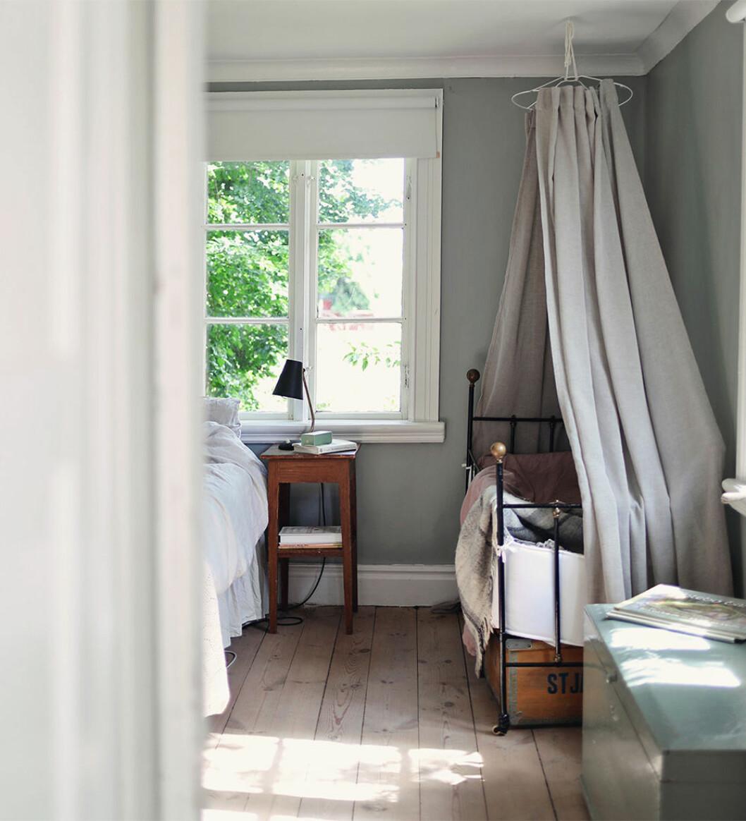 Sovrum i sommarhus på Gotland
