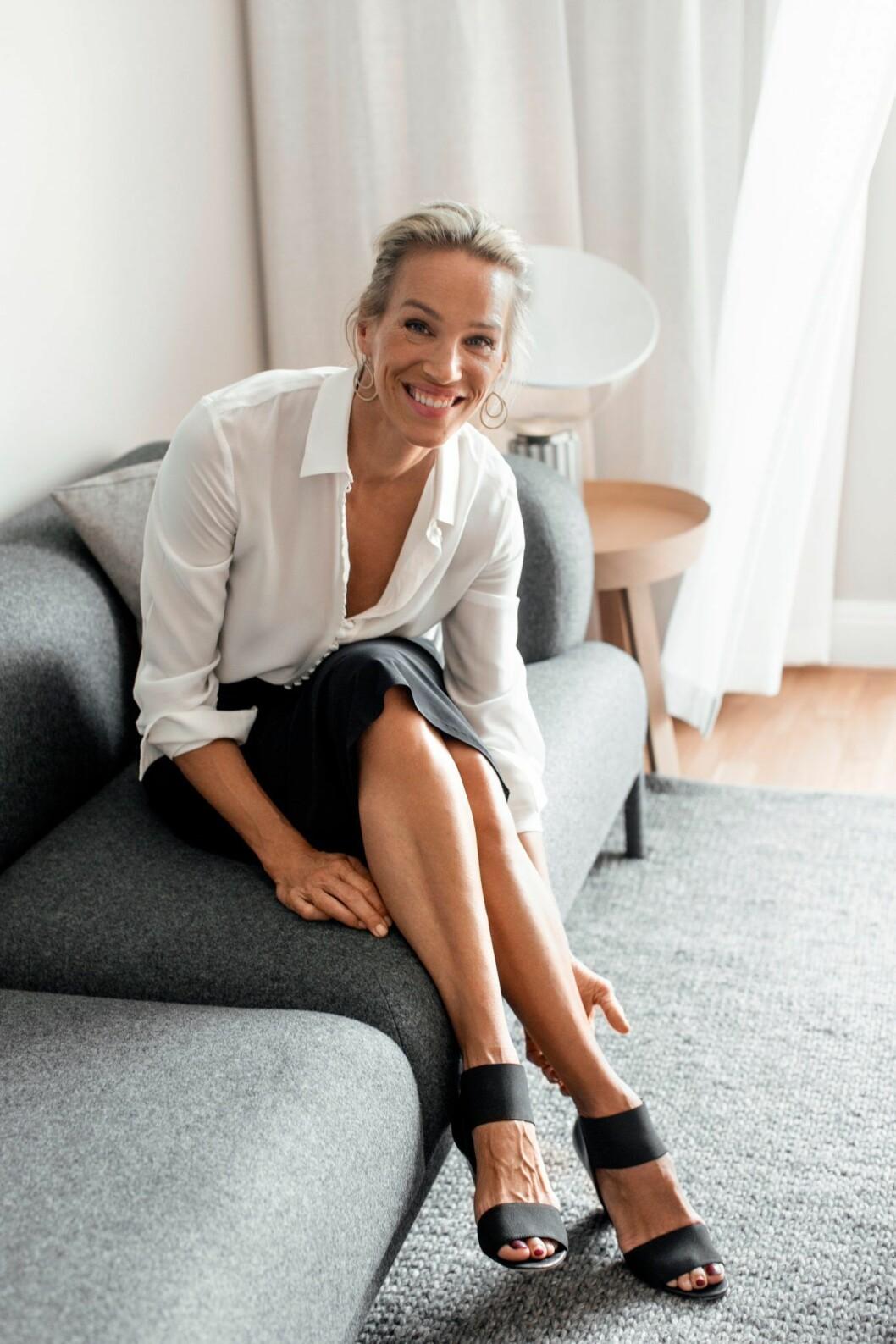 Emma Wiklund, modell och grundare Emma S. Hudvård