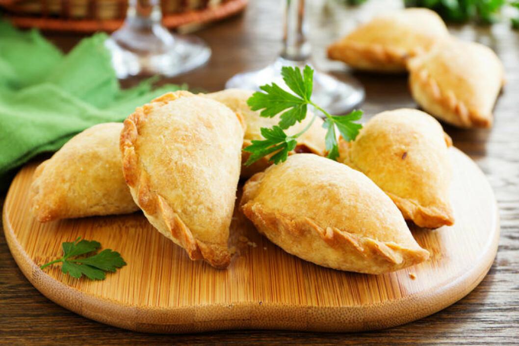 Klassiska empanadas. Foto: Shutterstock
