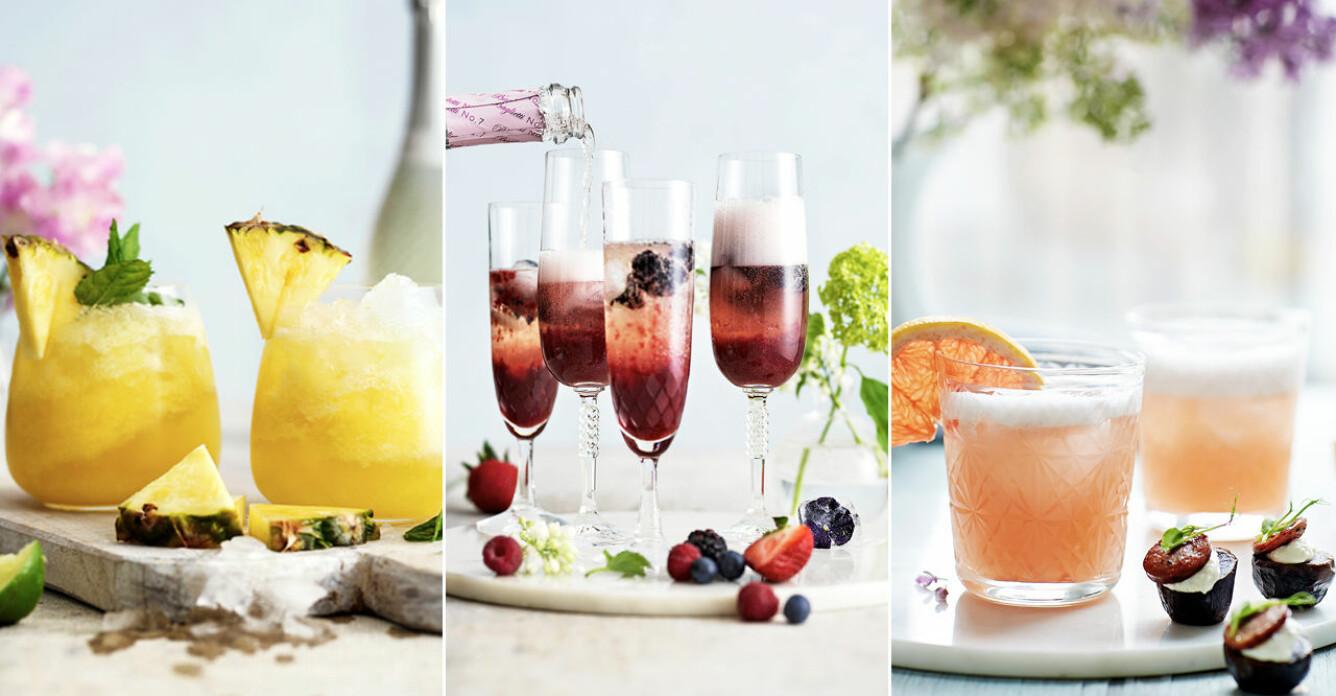 4 drinkar att skåla in sommaren med