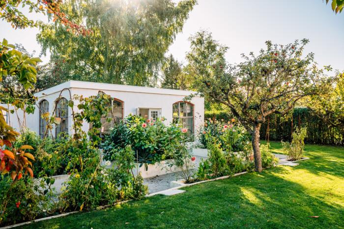 en välvårdad trädgård är viktigt i stylingarna