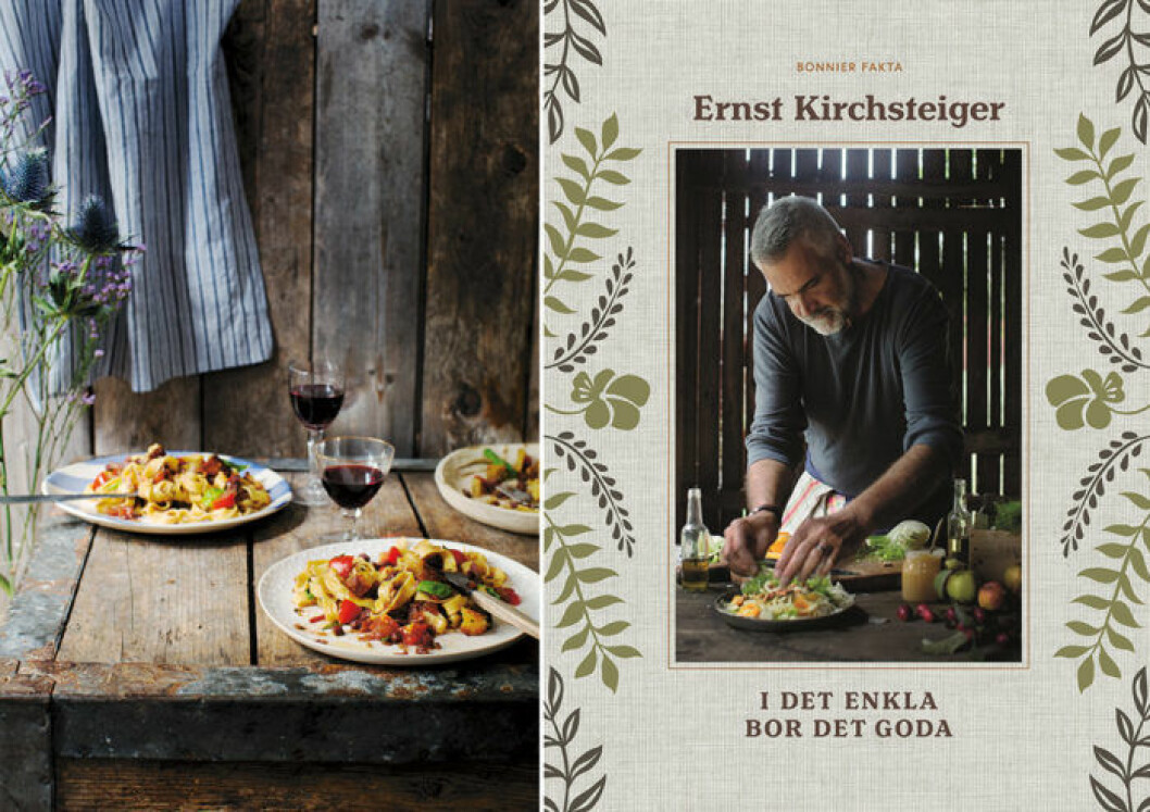 """""""I det enkla bor det goda"""" (Bonnier Fakta) av Ernst Kirchsteiger."""