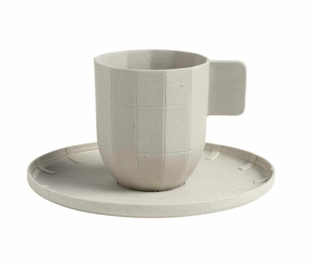 En espressokopp.