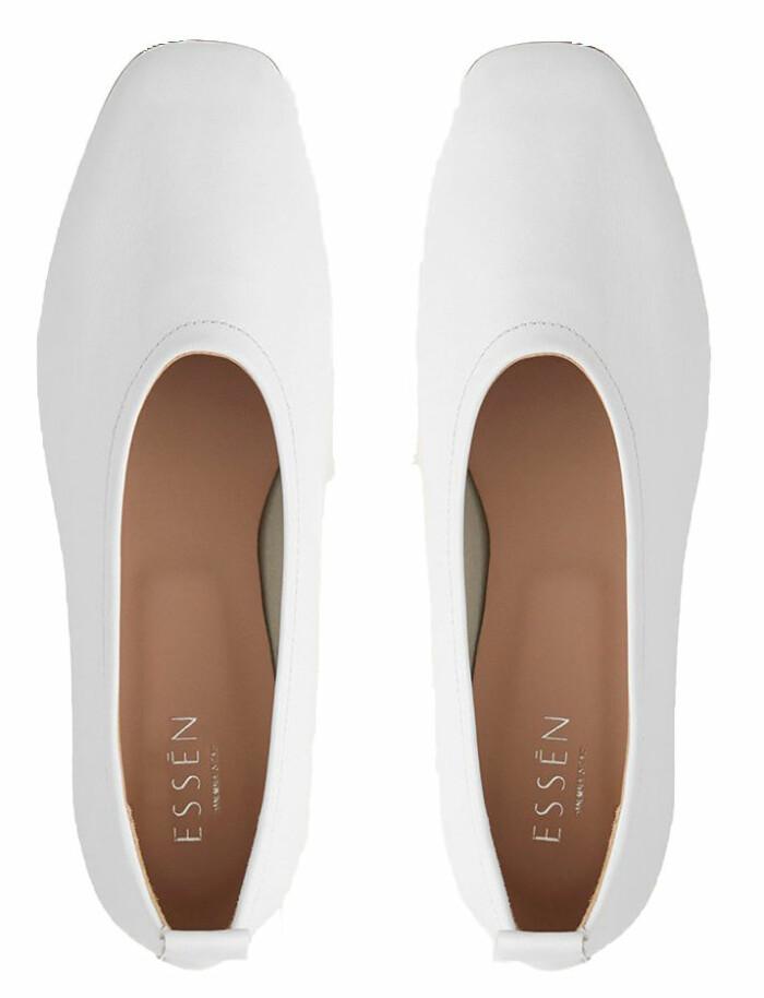 Låga skor med rund form och stilrena drag från eko-vänliga skomärket Essen the label.
