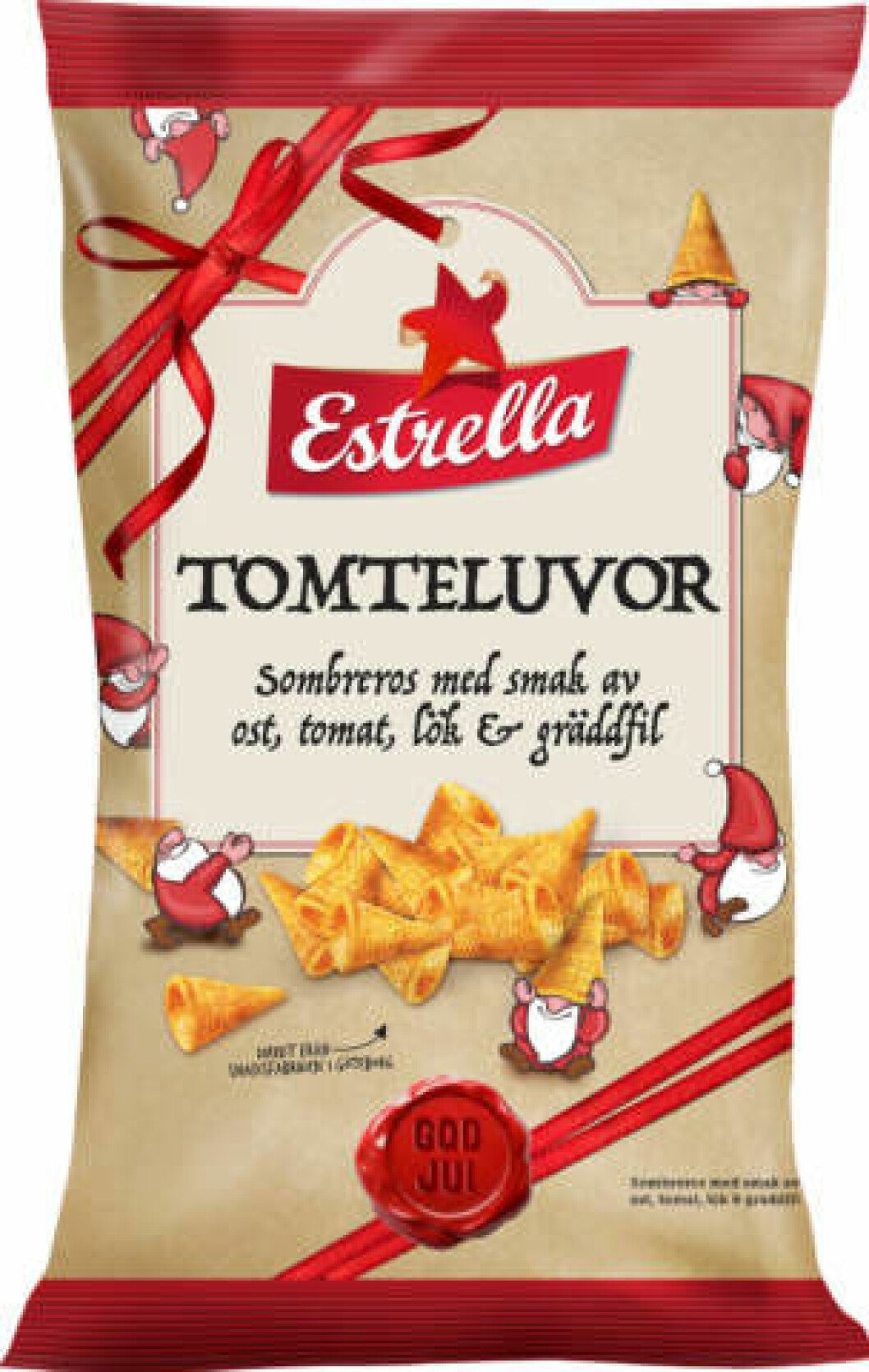 Tomteluvor snacks.