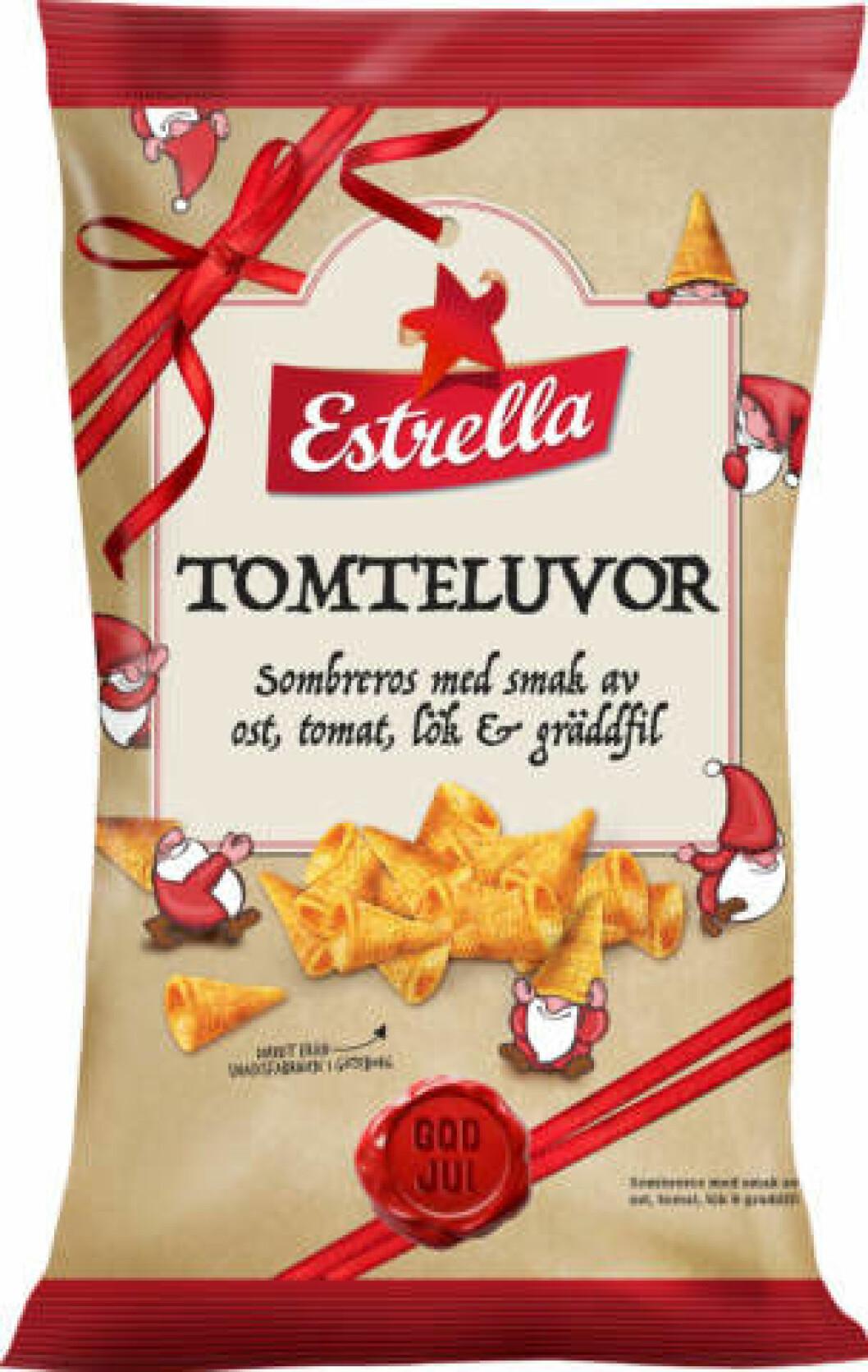 Tomteluvor snacks.