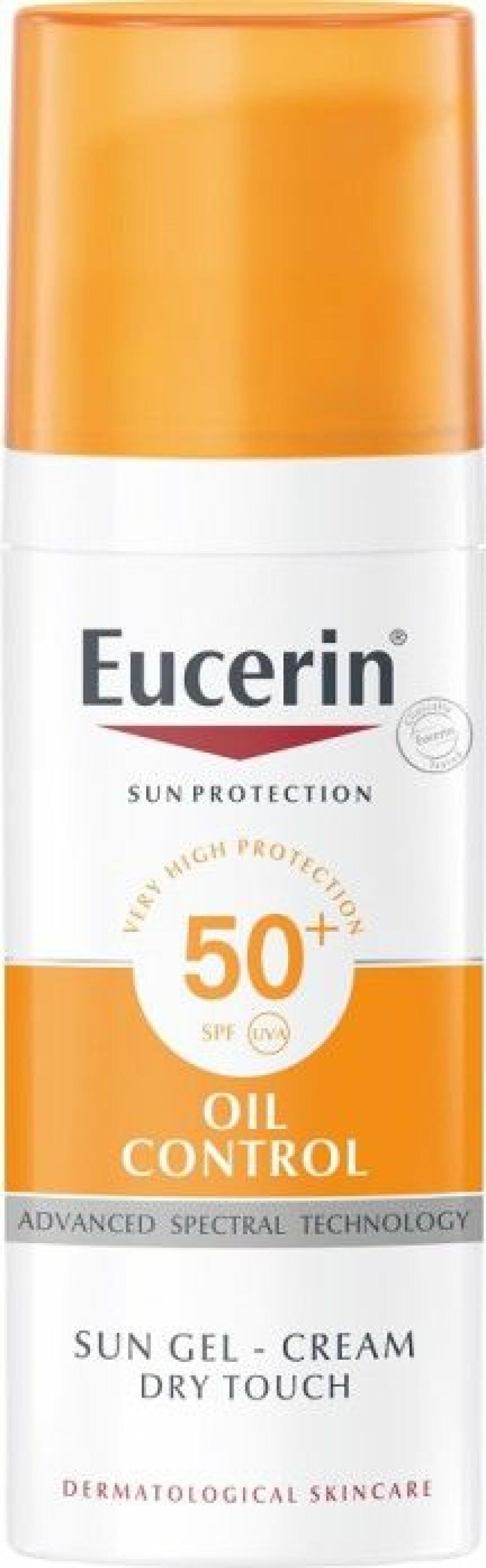 Eucerins Oil control SPF 50