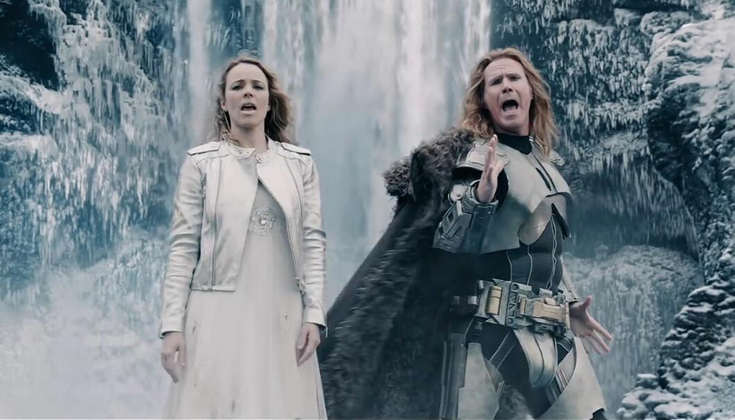 Will Ferrel och Rachel McAdams sjunger