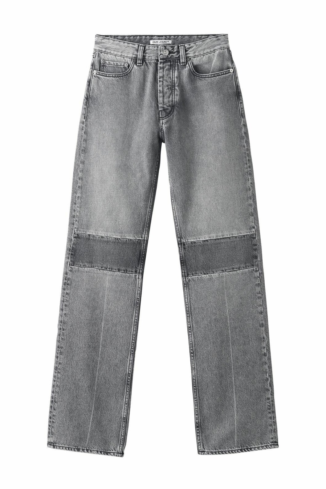 Our Legacy Extended Linear cut denim