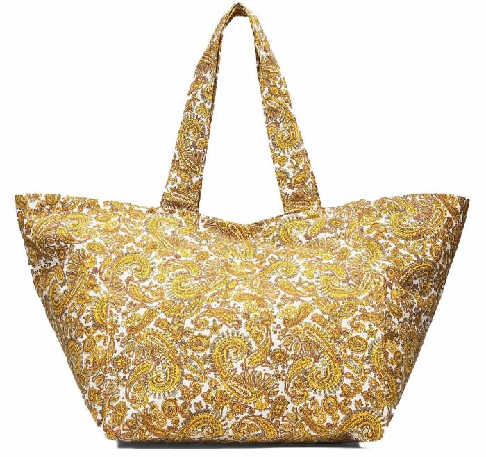 stor väska med mönster från märket Faithfull the brand.
