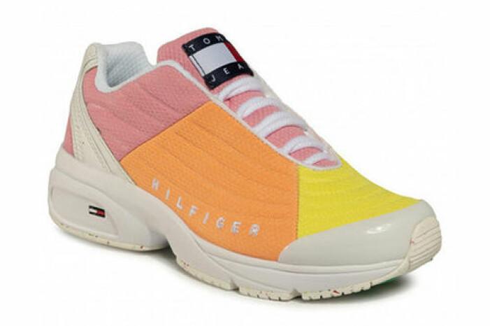 färgglada sneakers