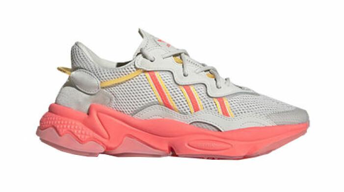 färgglada sneakers chunky